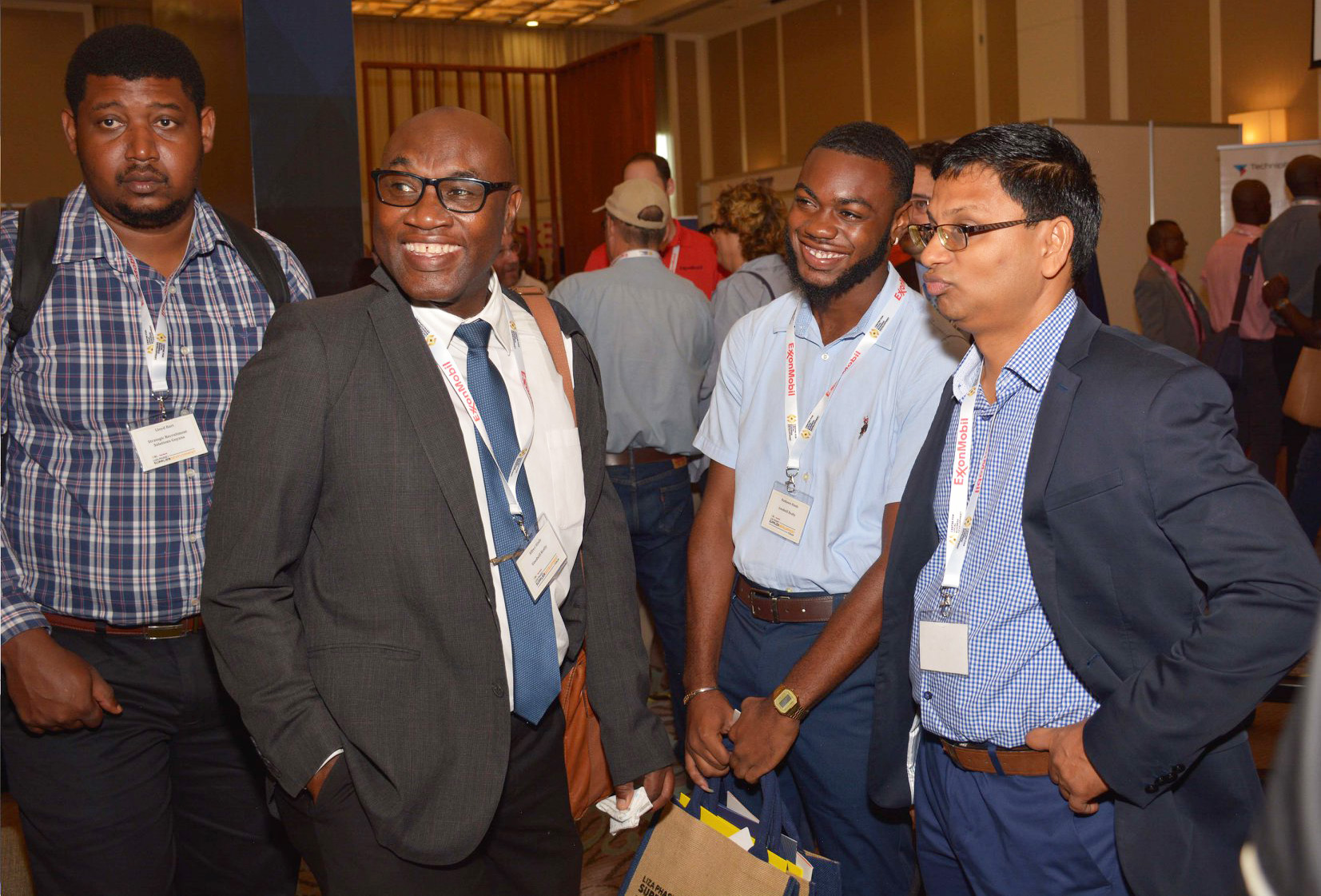 ExxonMobil Supplier Forum in Georgetown, Guyana, Attracts