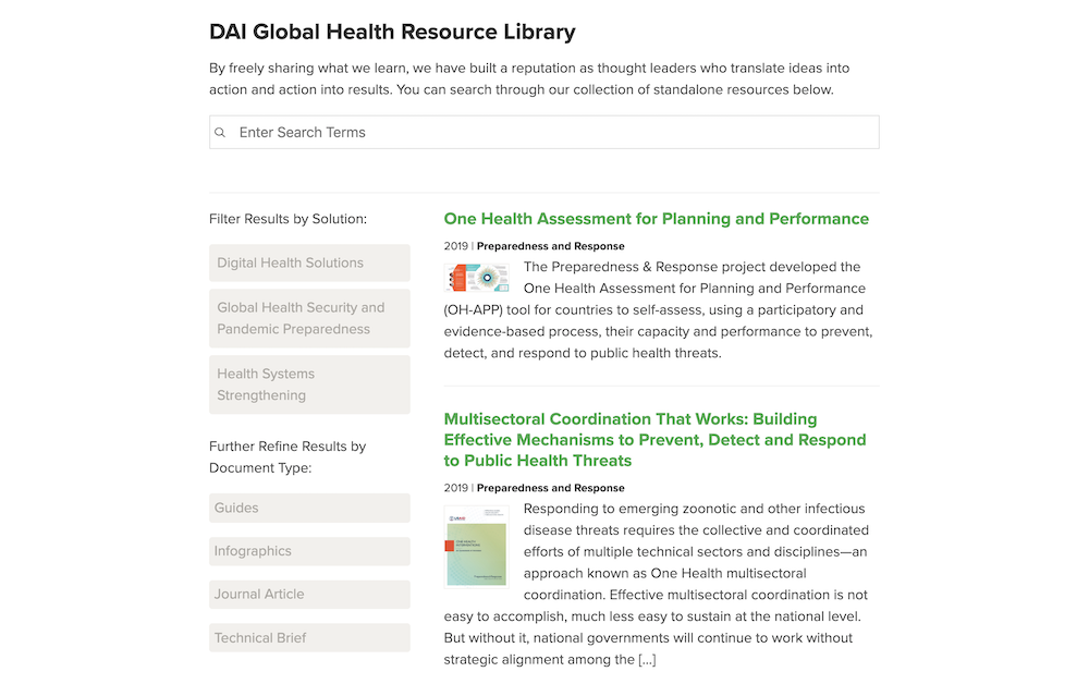 Health Resource Library