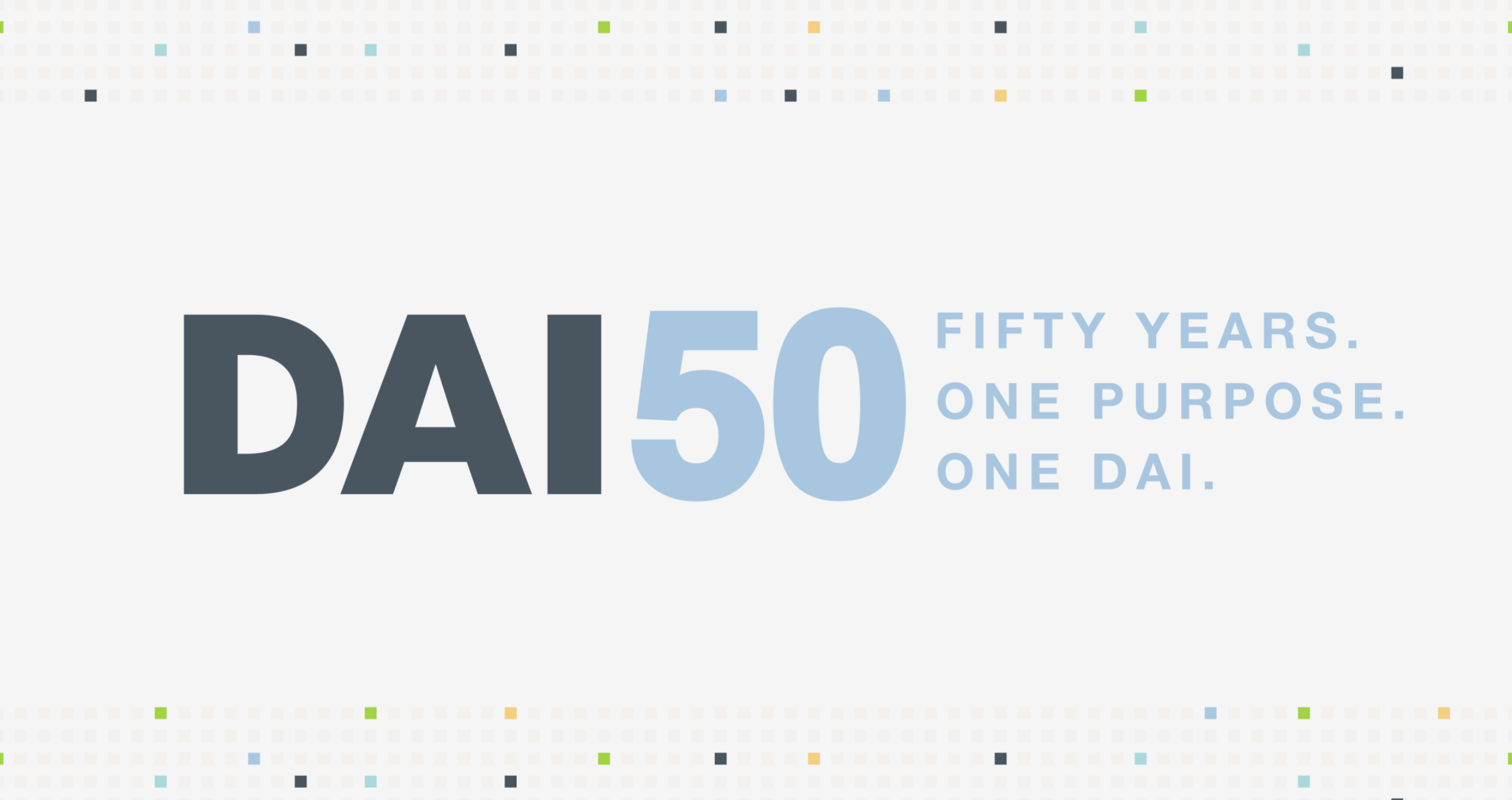 DAI 50th Site Graphic
